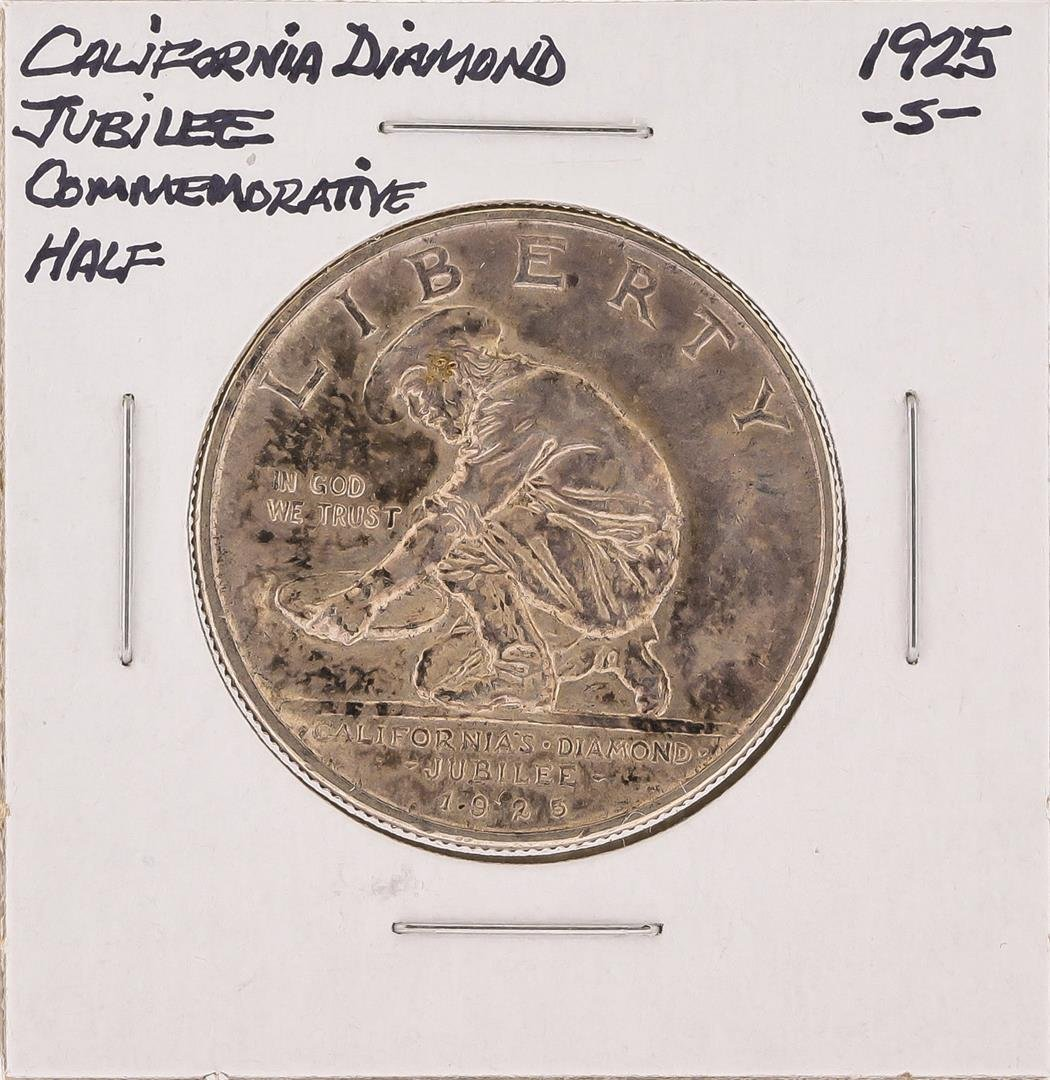 1925-S California Diamond Jubilee Commemorative Half