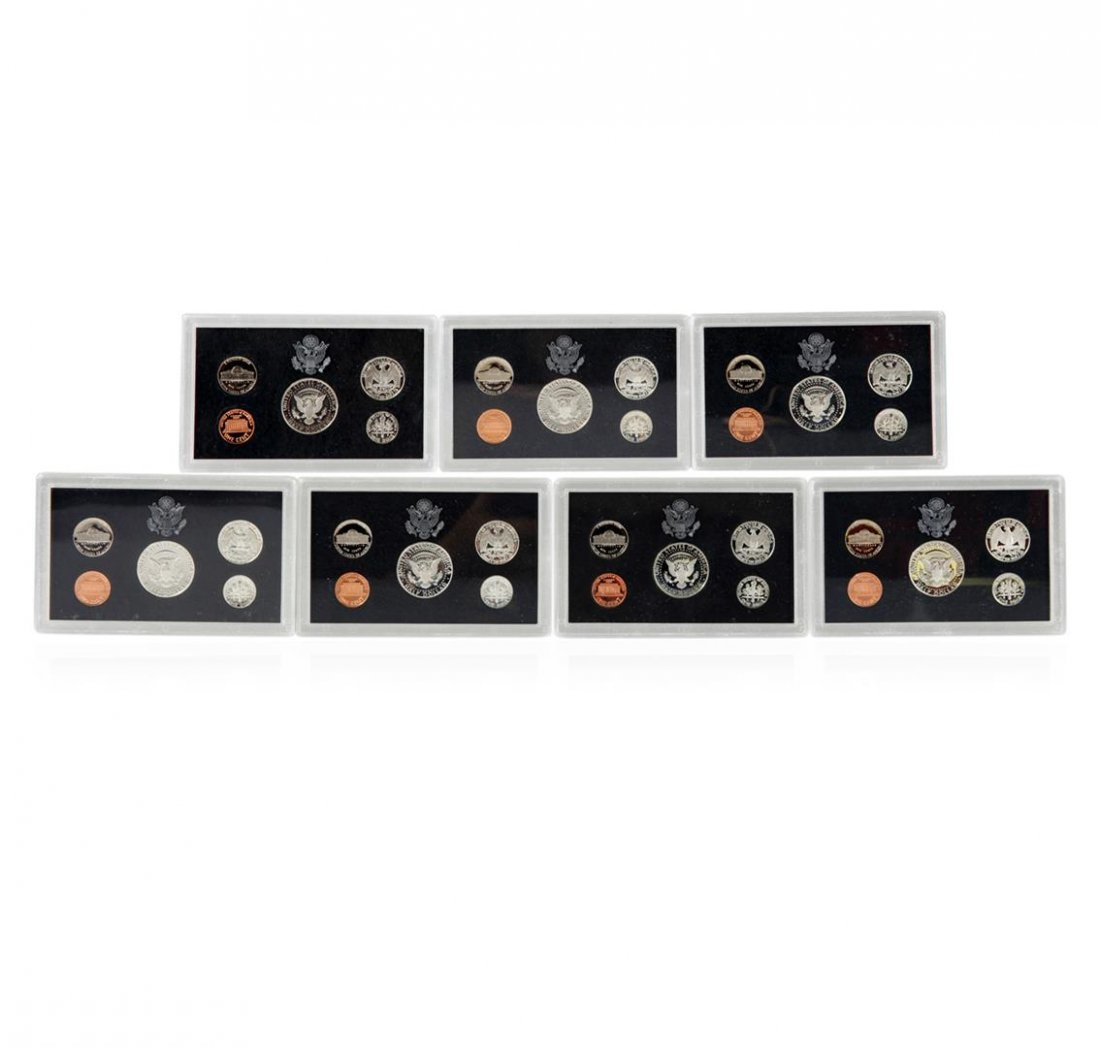 1992-1998 United States Mint Silver Proof Sets - 2