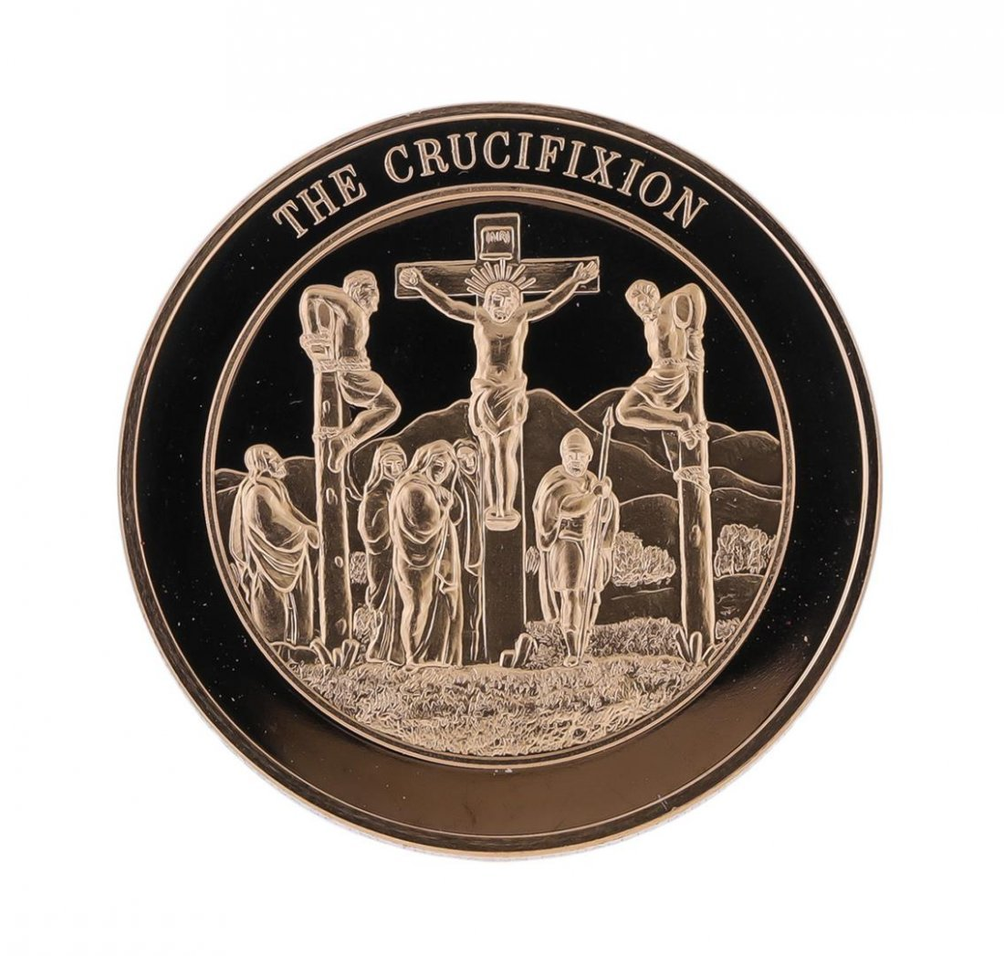 Franklin Mint Thomason Medallic Bible Proof Bronze