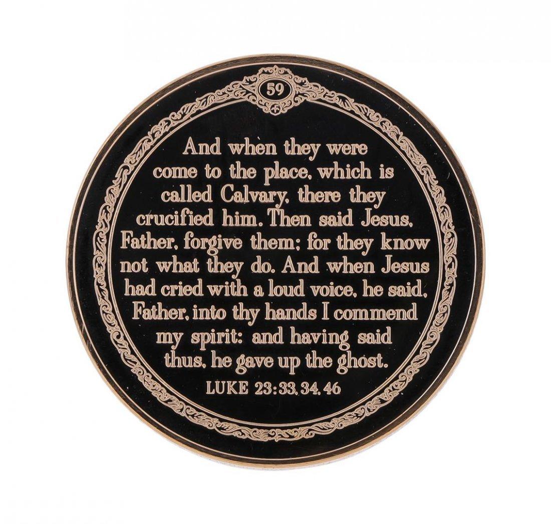 Franklin Mint Thomason Medallic Bible Proof Bronze - 2