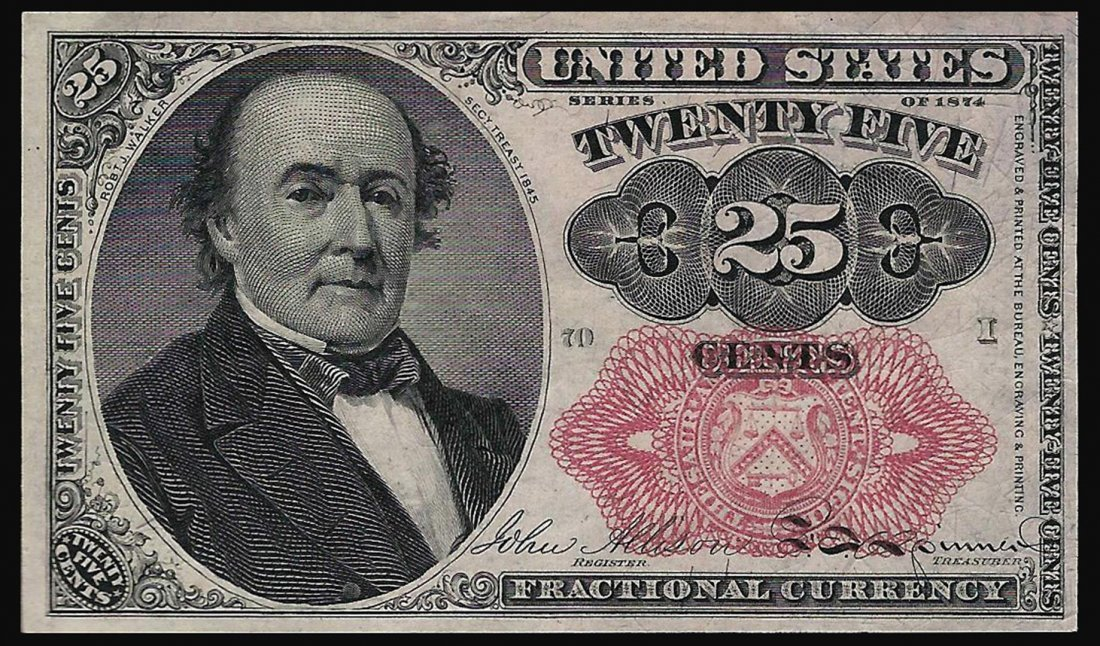 March 3, 1863 25 Cent 5th Issue Fractional Note