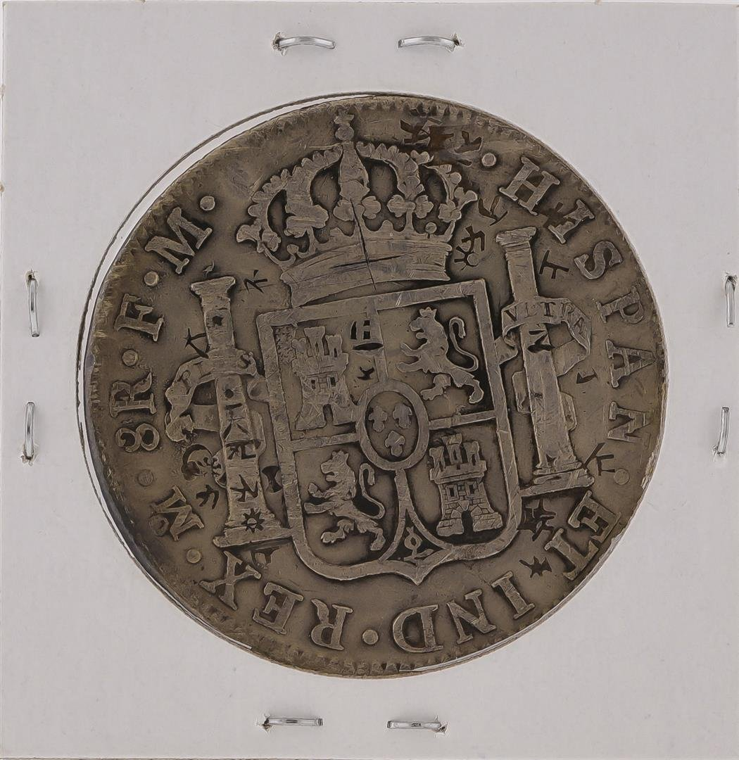 1796M 8 Reales Mexico Spanish Silver Coin - 2