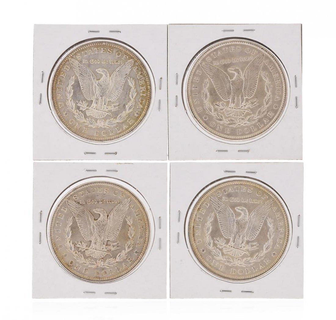 Set of (4) 1900 $1 Morgan Silver Dollar Coins - 2