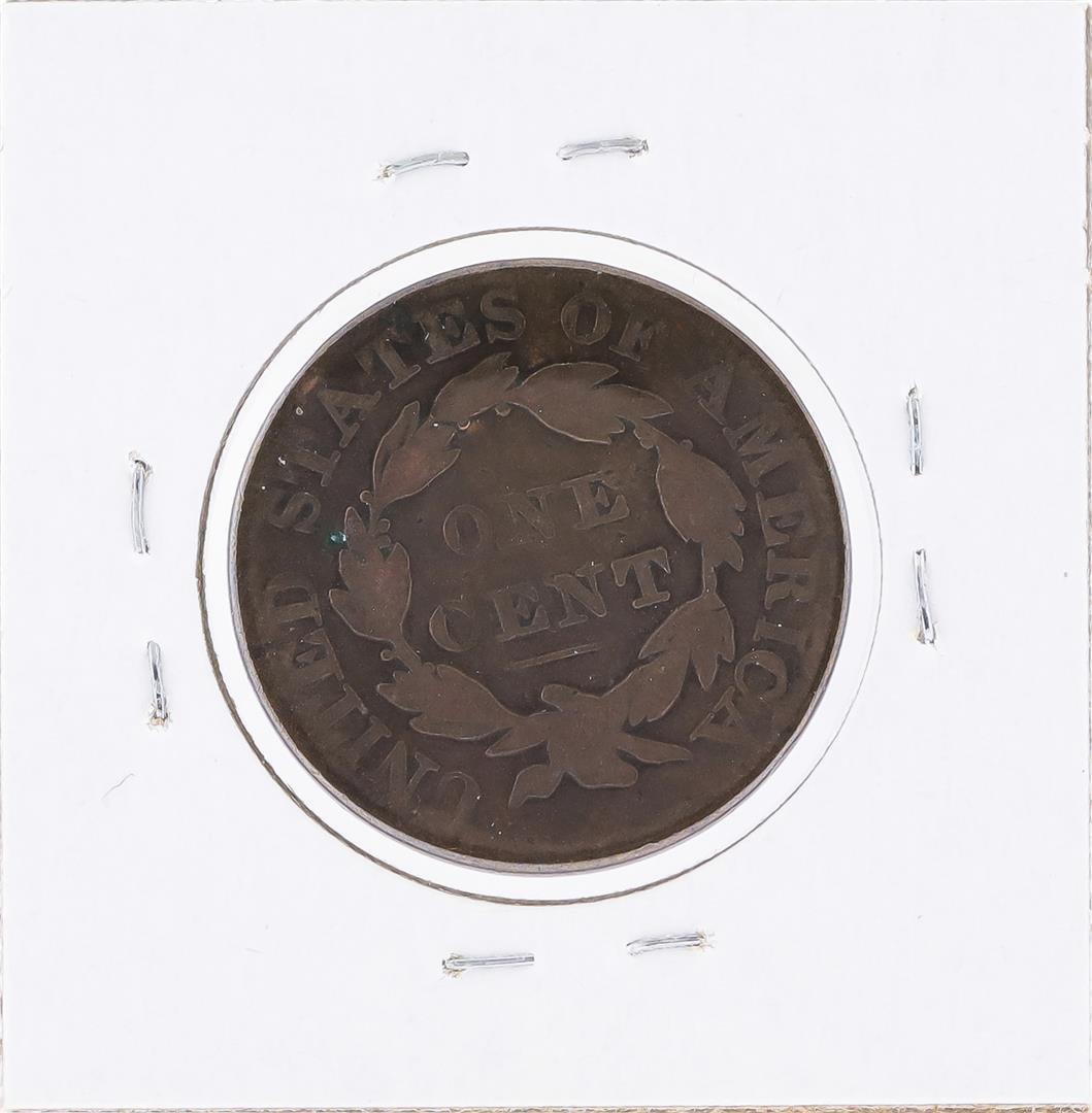 1830 Matron Head Large Cent Coin - 2