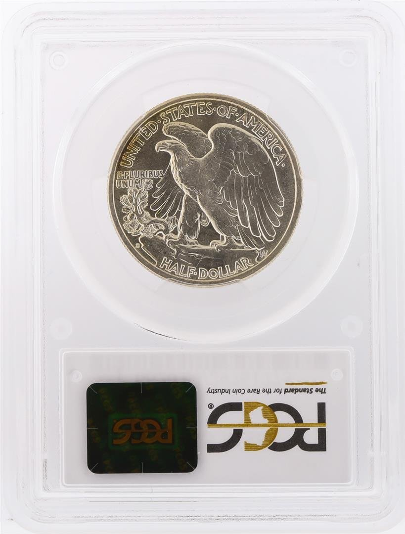 1943-S Walking Liberty Half Dollar Coin PCGS Graded - 2