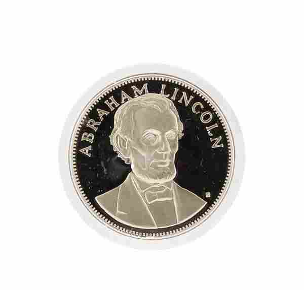 1972 Franklin Mint Abraham Lincoln Sterling Silver