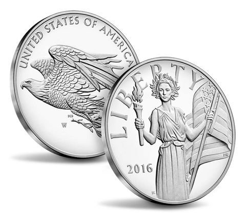 2016-W American Liberty Silver Medal - Sold Out in 3 - 3