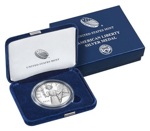 2016-W American Liberty Silver Medal - Sold Out in 3 - 4