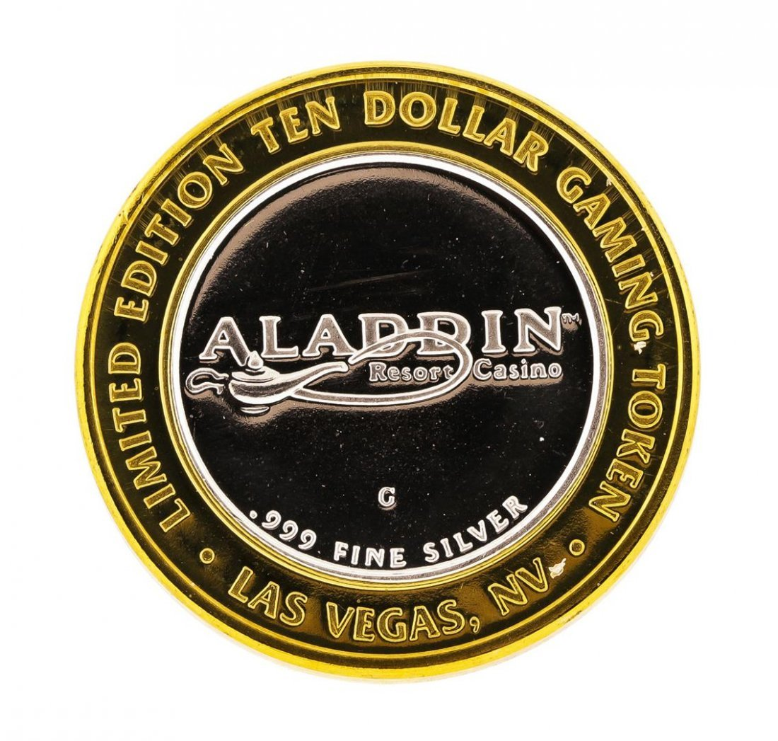 .999 Silver Aladdin Resort Casino Las Vegas, NV $10