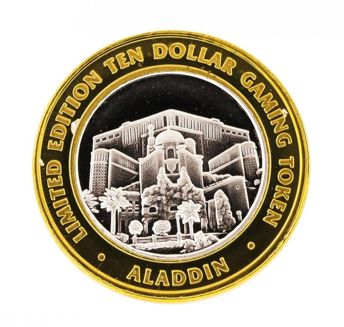 .999 Silver Aladdin Resort Casino Las Vegas, NV $10 - 2
