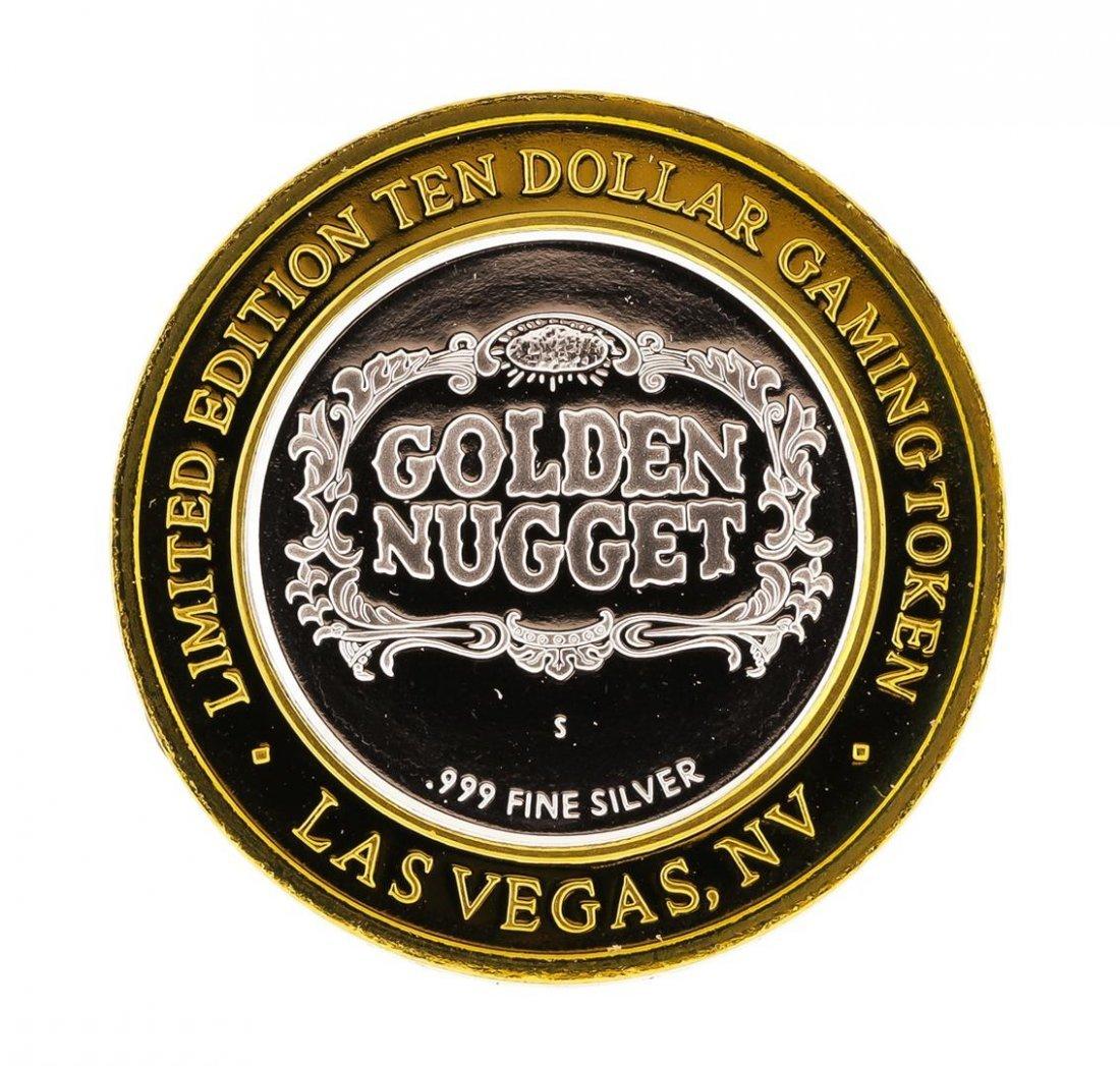 .999 Silver Golden Nugget Las Vegas, NV $10 Casino