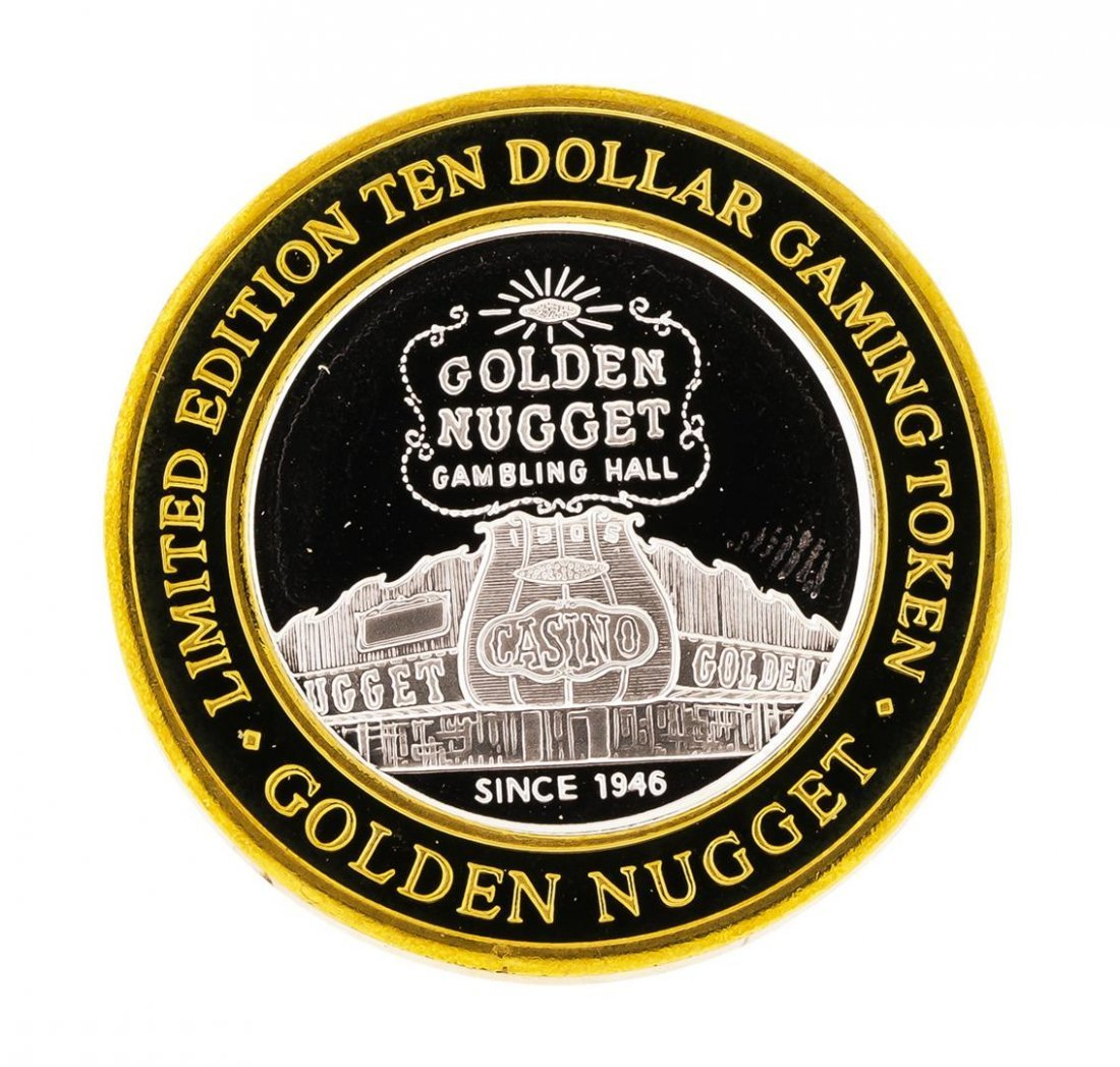 .999 Silver Golden Nugget Las Vegas, NV $10 Casino - 2