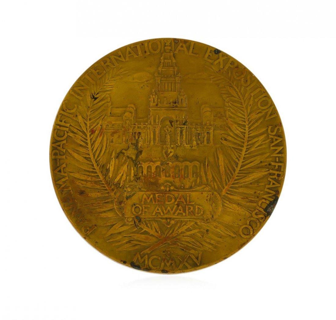 1915 Panama Pacific World Fair Exposition Medal - 2