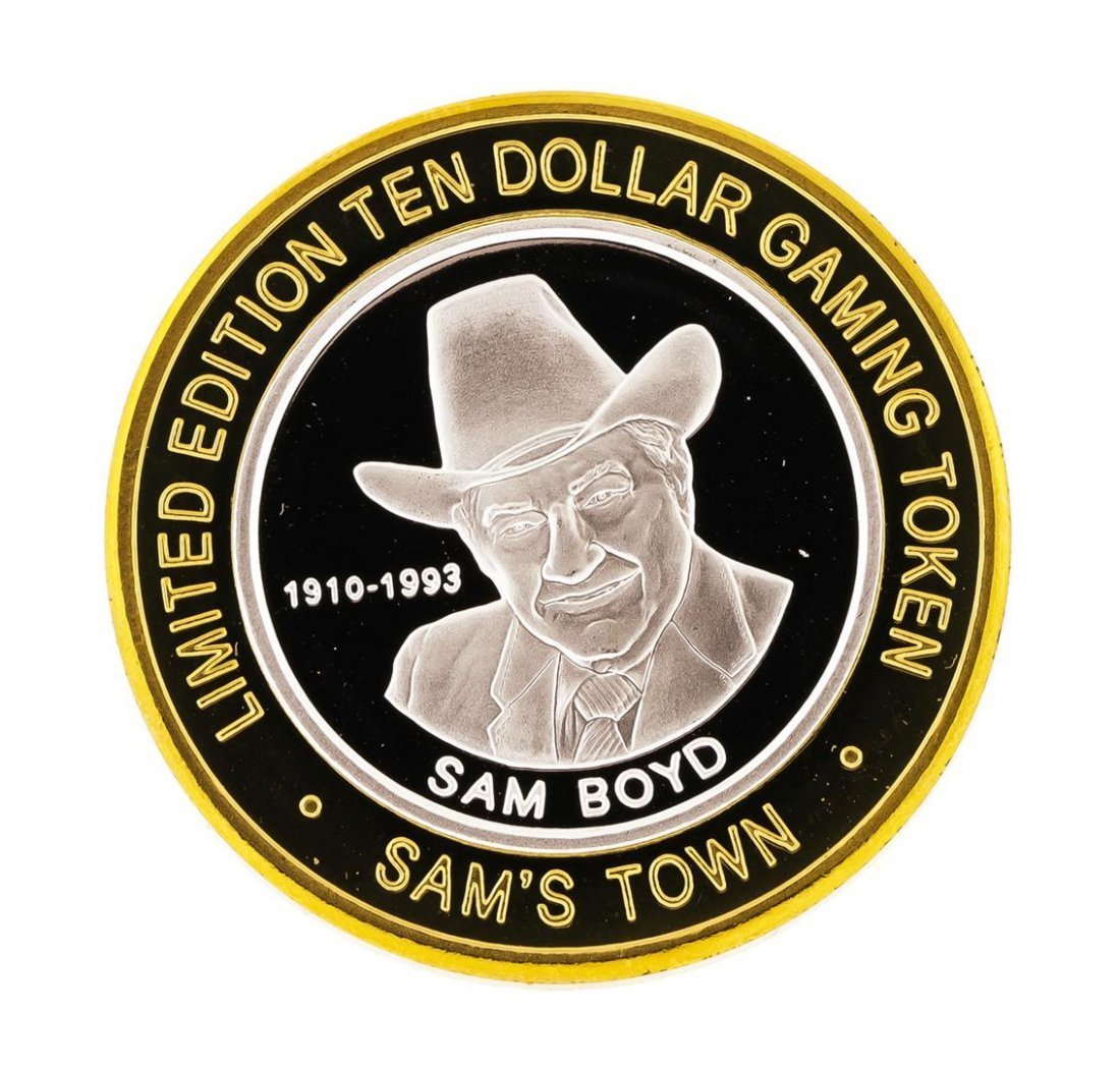 .999 Silver Sam's Town Las Vegas, NV $10 Casino Limited