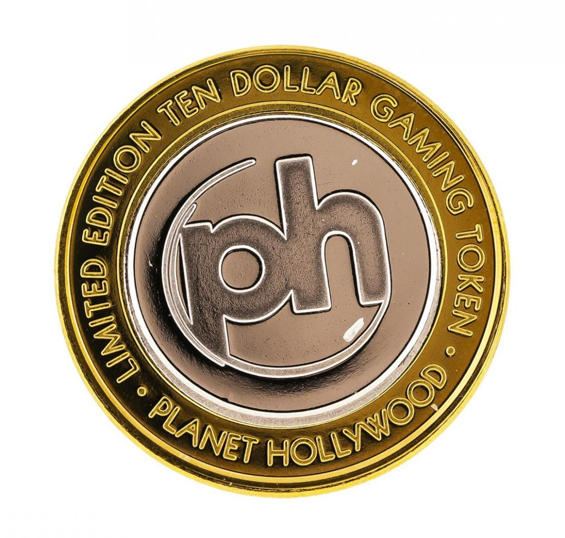 .999 Silver Planet Hollywood Casino Las Vegas $10