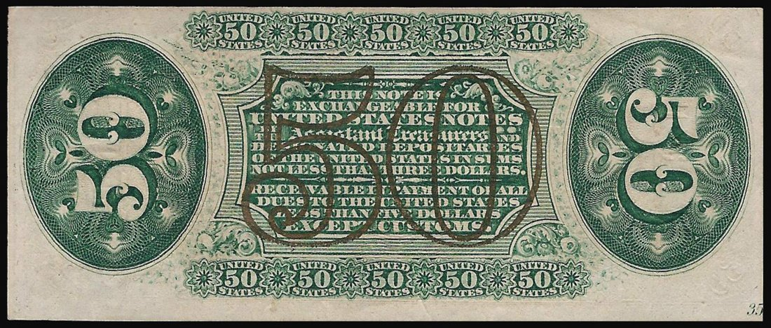 March 3, 1863 50 Cent 3rd Issue Fractional Note - 2