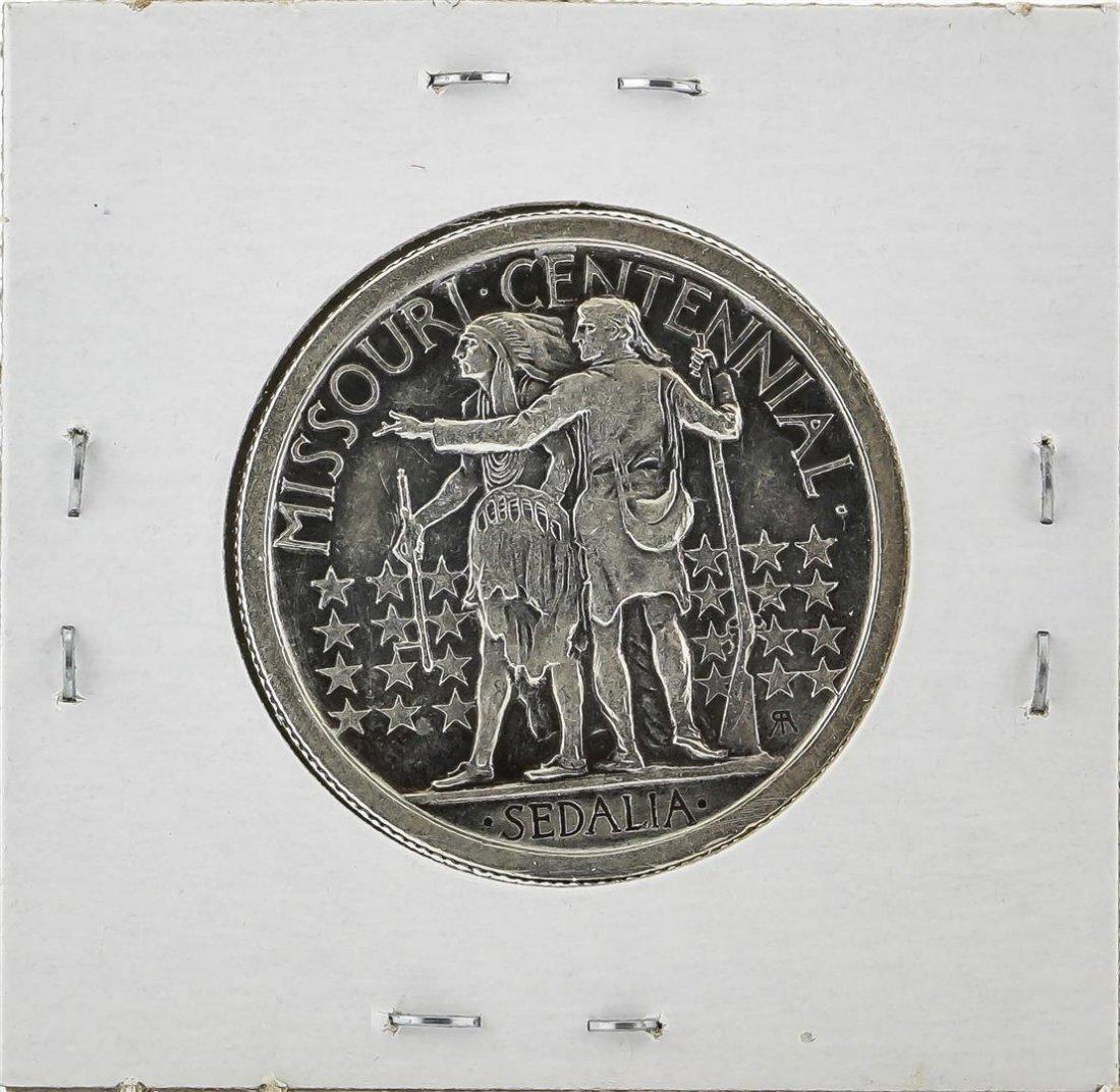 1921 Missouri Centennial Commemorative Half Dollar Coin - 2