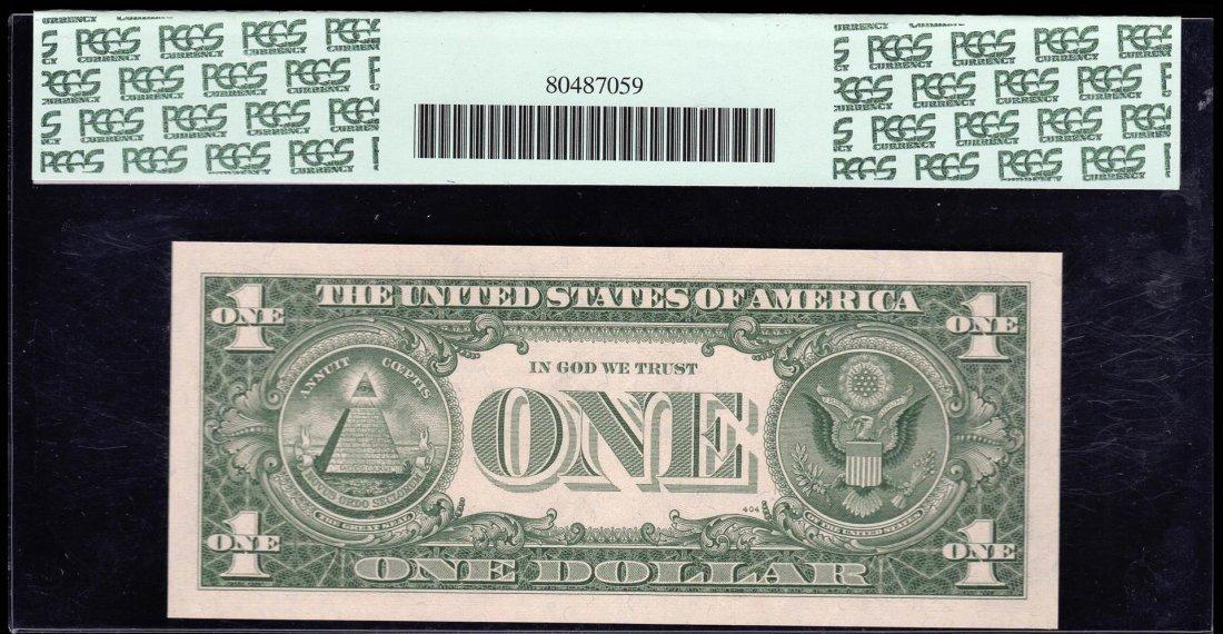 1957B $1 Silver Certificate Note PCGS 67PPQ Superb Gem - 2