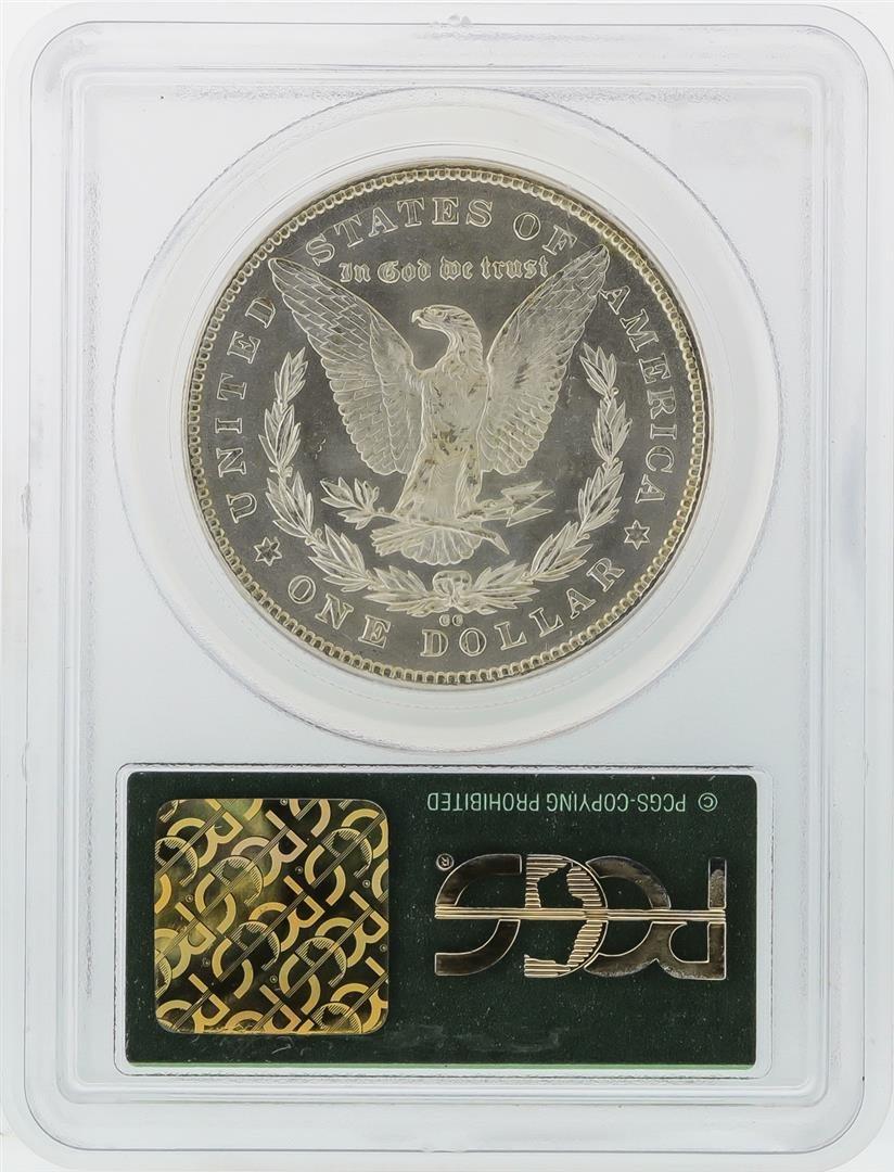 1878-CC $1 Morgan Silver Dollar Coin PCGS Graded MS63 - 2
