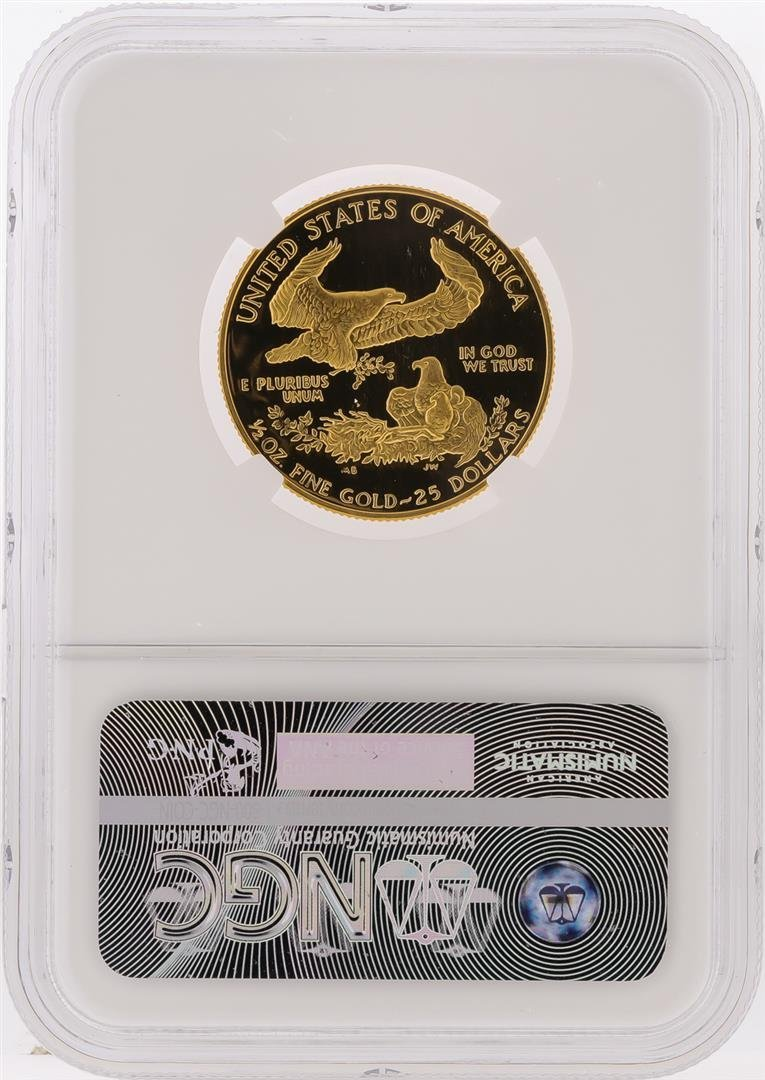 1987-P $25 American Gold Eagle Coin NGC Graded PF69 - 2