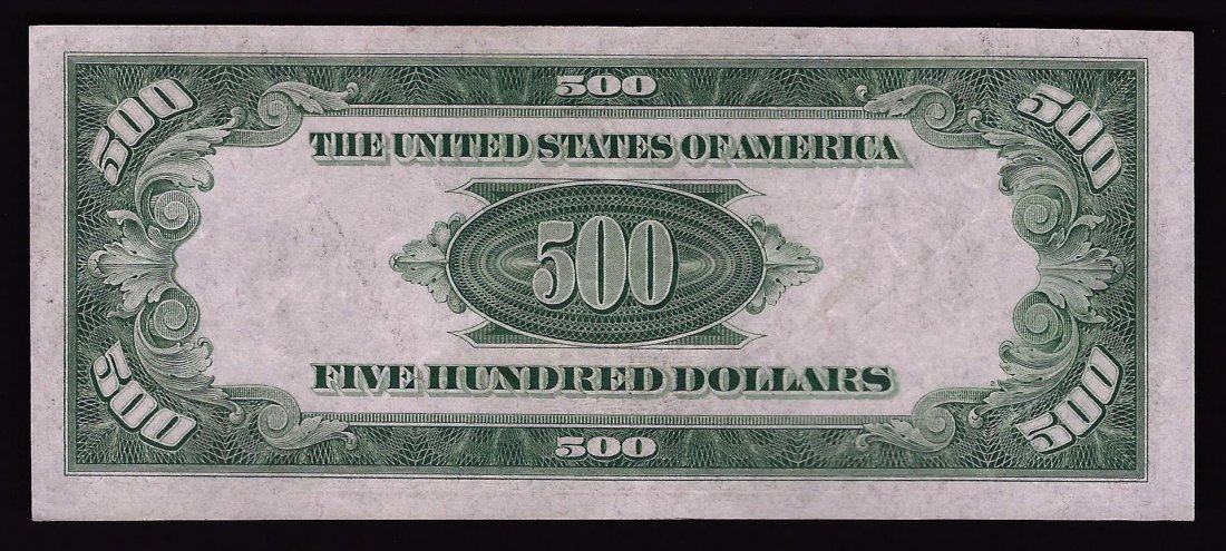 1934A $500 Federal Reserve Note Chicago - 2