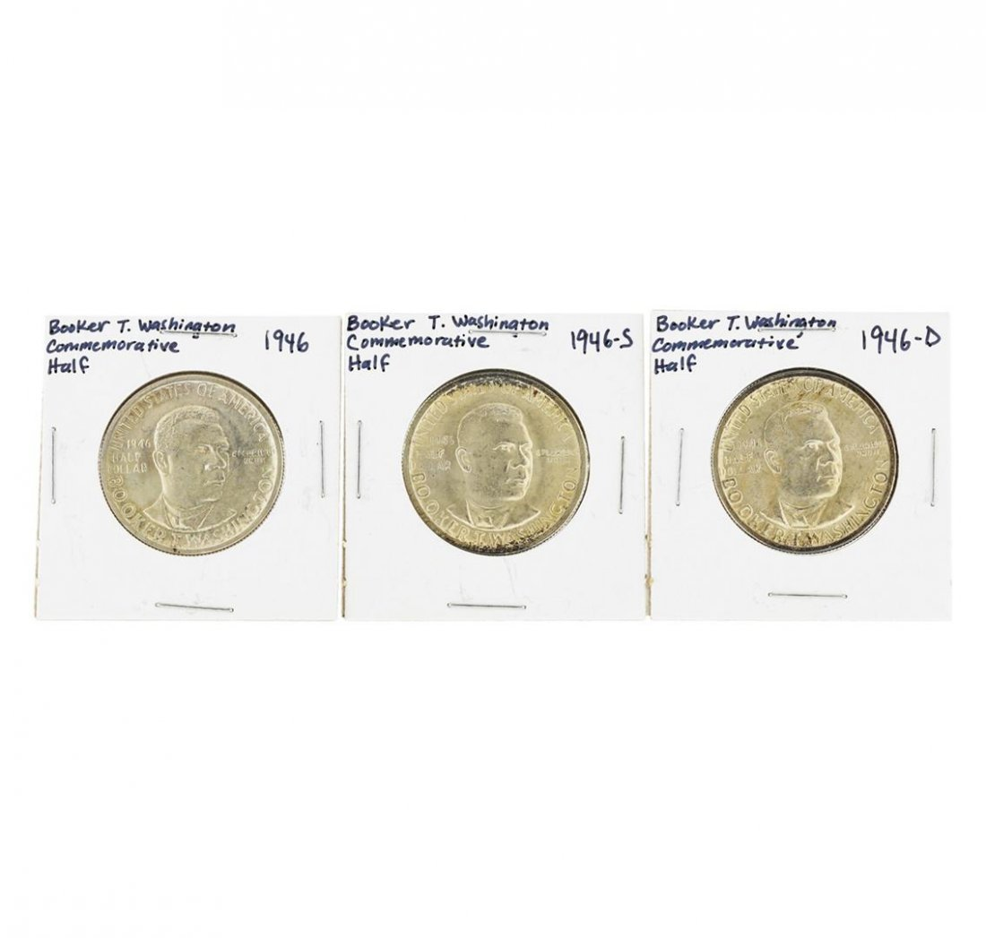 1946/D/S Booker T. Washington Commemorative Half Dollar