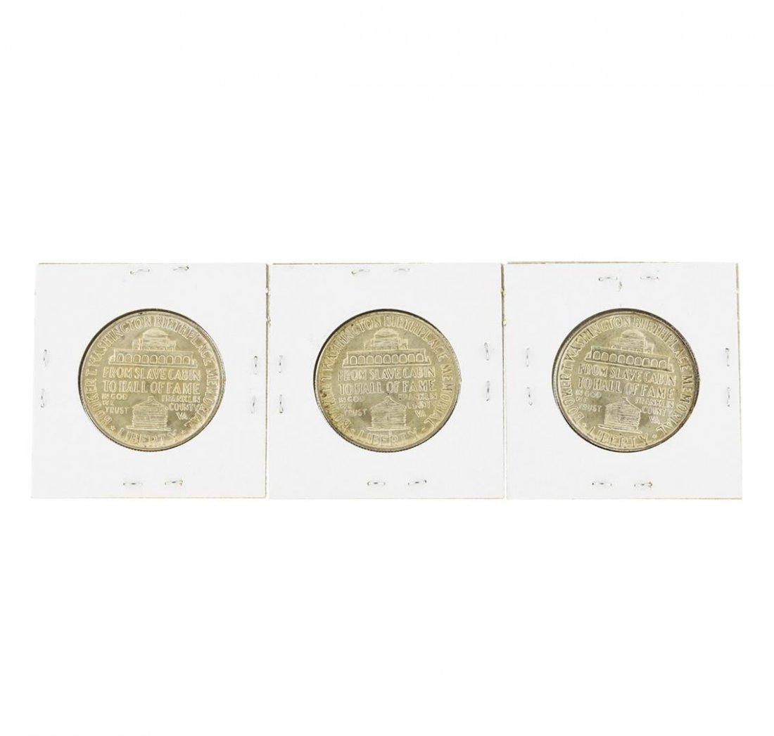 1946/D/S Booker T. Washington Commemorative Half Dollar - 2