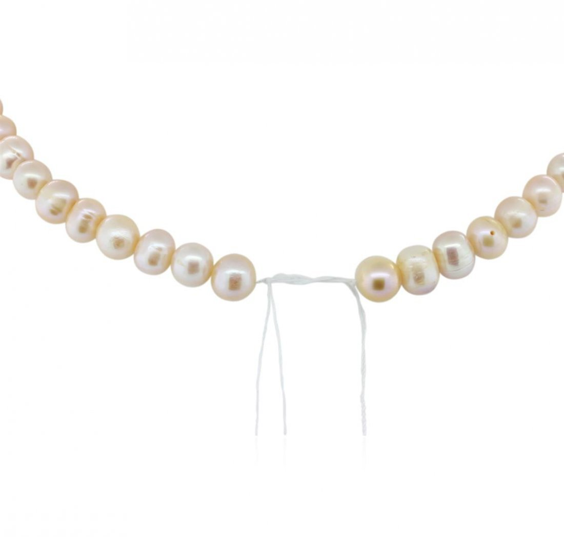 7-9MM Cultured Pearl Loose Strand Necklace - 2