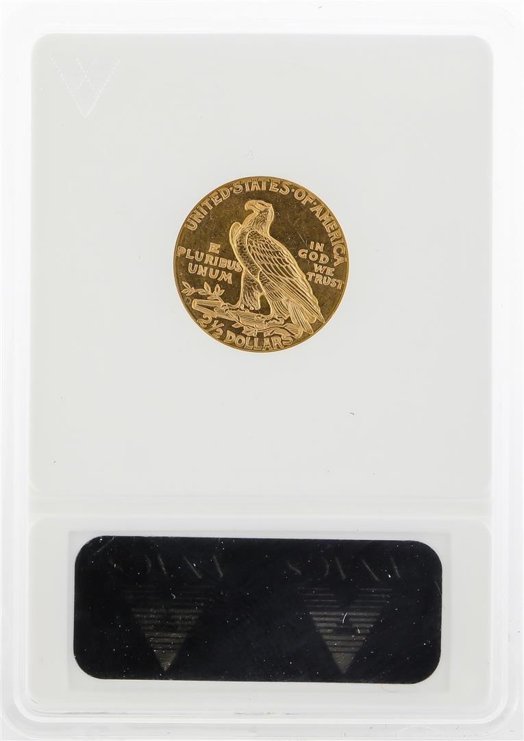 1925 $2 1/2 Indian Head Quarter Eagle Gold Coin ANACS - 2