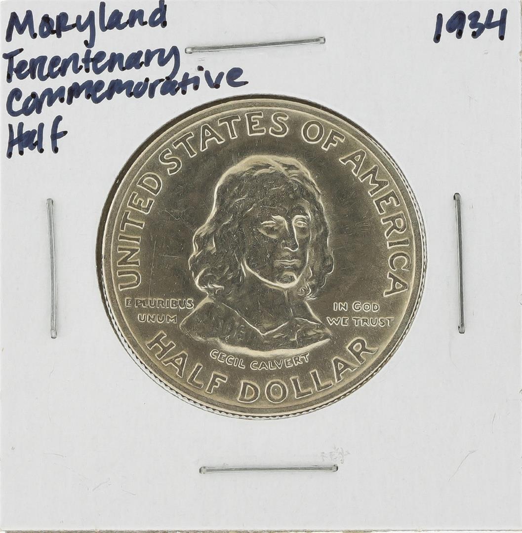 1934 Maryland Tercentenary Commemorative Half Dollar