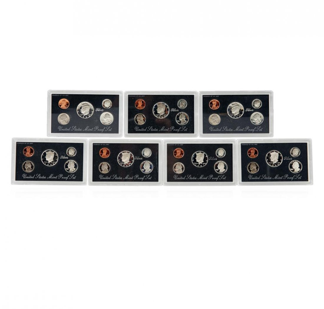 1992-1998 United States Mint Silver Proof Sets