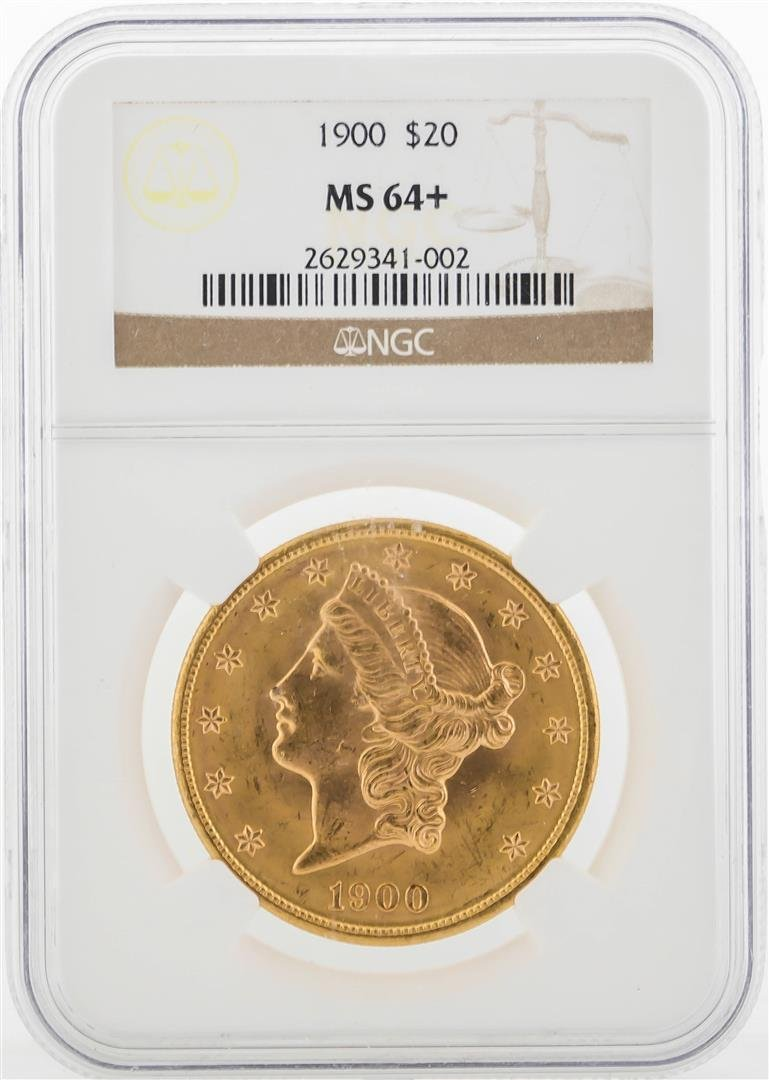 1900-S $20 Liberty Head Double Eagle Gold Coin NGC