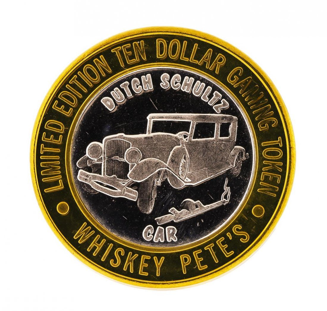 .999 Silver Whiskey Petes Casino Primm, NV $10 Casino - 2