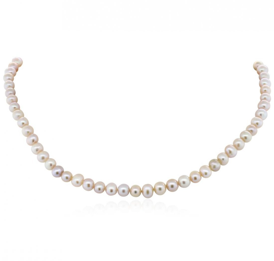 5-7MM Cultured Pearl Loose Strand Necklace