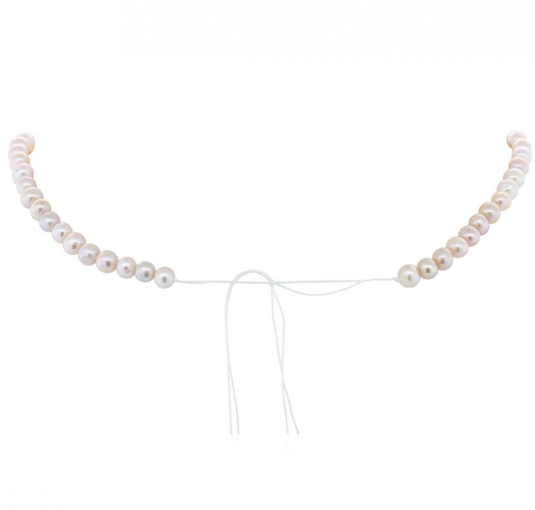 5-7MM Cultured Pearl Loose Strand Necklace - 2