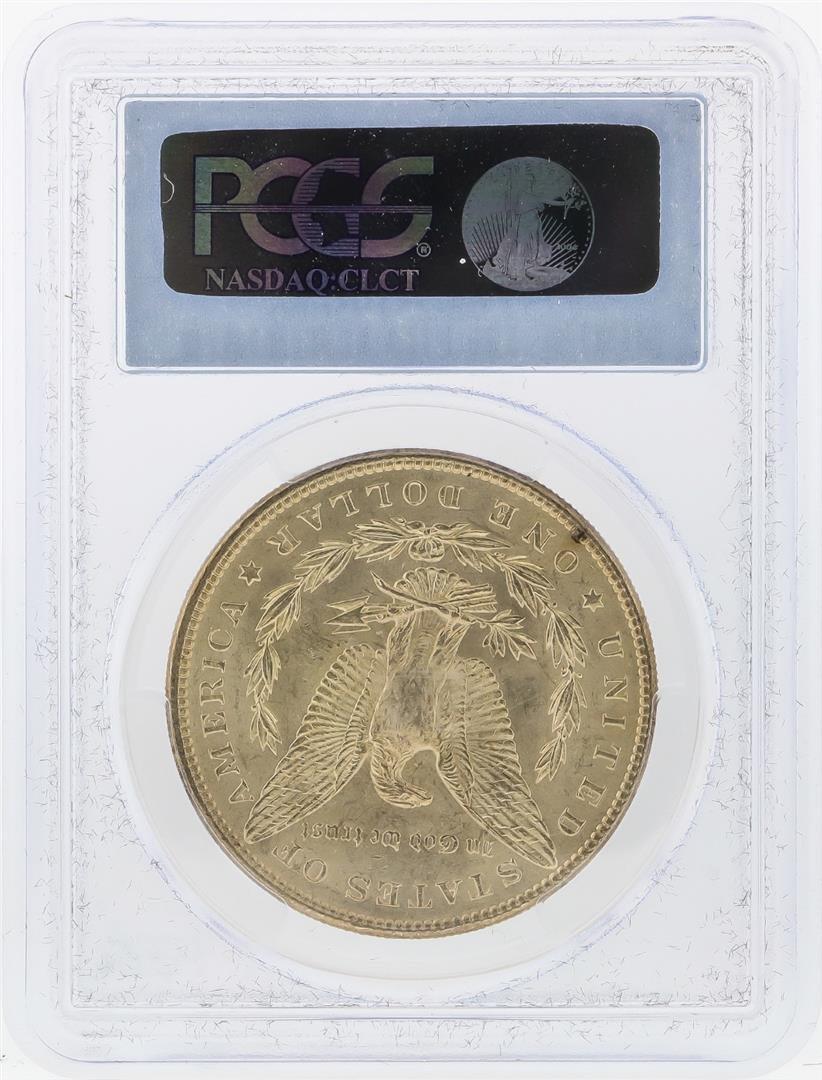 1898 $1 Morgan Silver Dollar PCGS Graded MS62 - 2