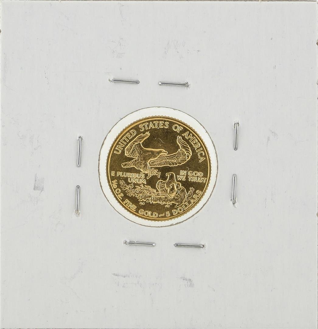 1986 $5 American Gold Eagle Coin - 2