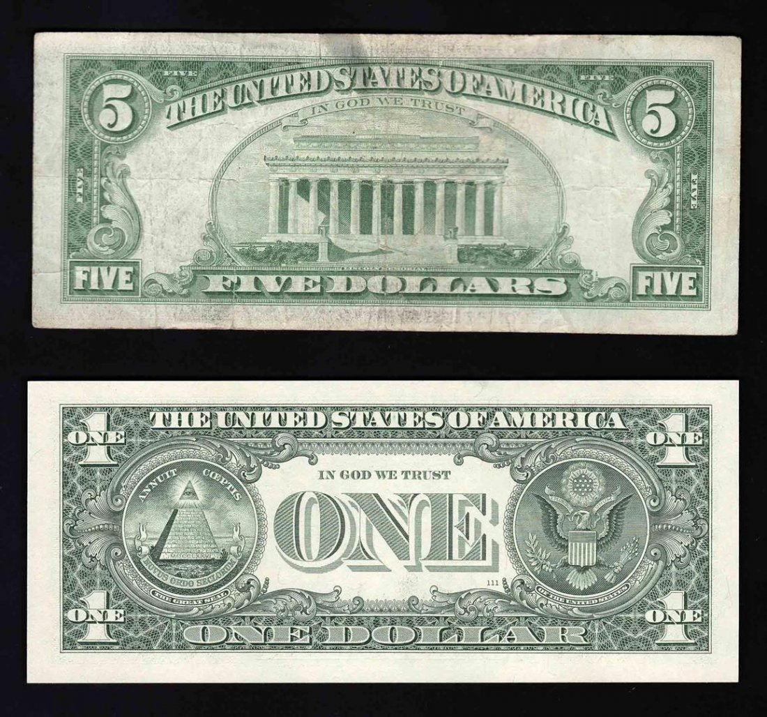 STAR Note Pack of (1) 2003A $1 Federal Reserve Note & - 2