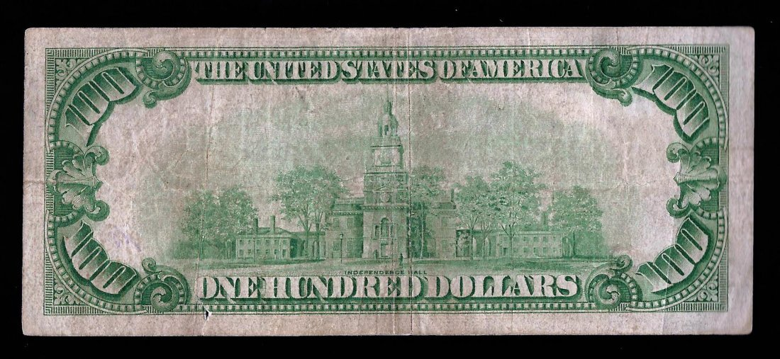 1928 $100 Federal Reserve Note Chicago - 2