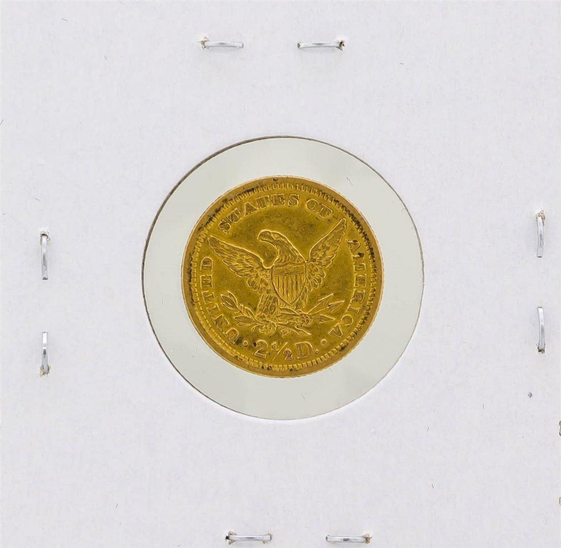 1901 $2 1/2 Liberty Head Quarter Eagle Gold Coin - 2