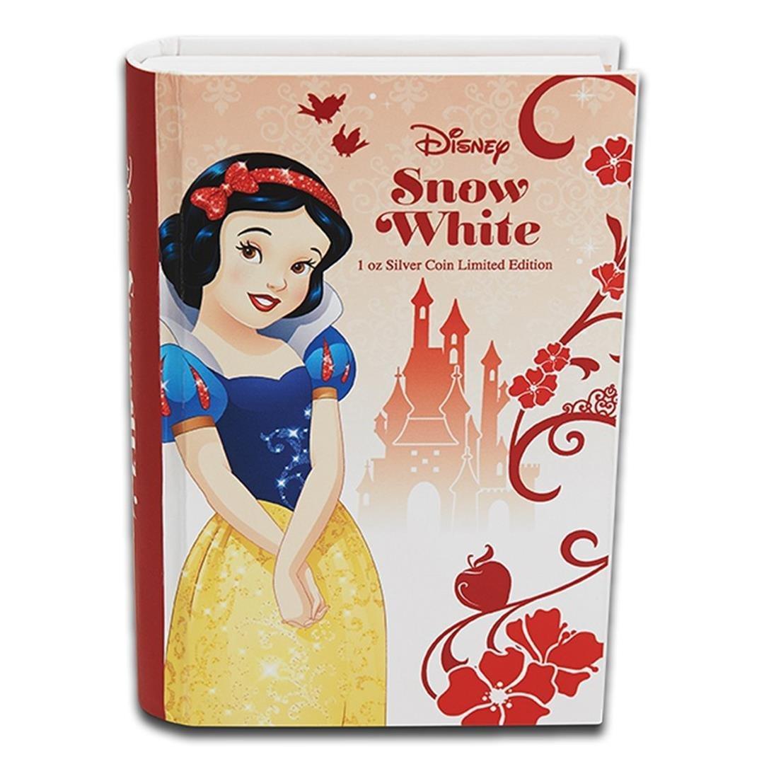 2015 $2 Disney Princess Snow White .999 Fine Silver - 4