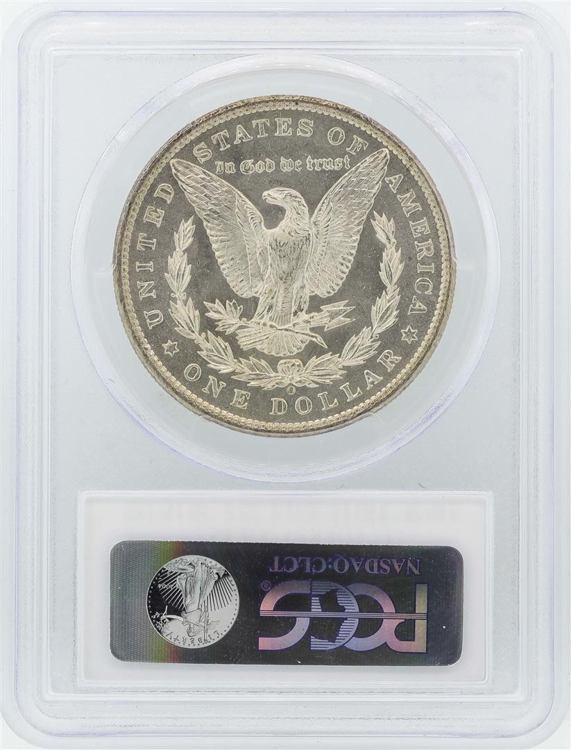 1898-O $1 Morgan Silver Dollar Coin PCGS MS63 - 2