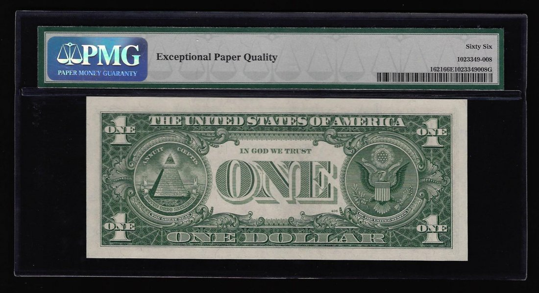 1957B $1 Silver Certificate Note ERROR Mismatched - 2