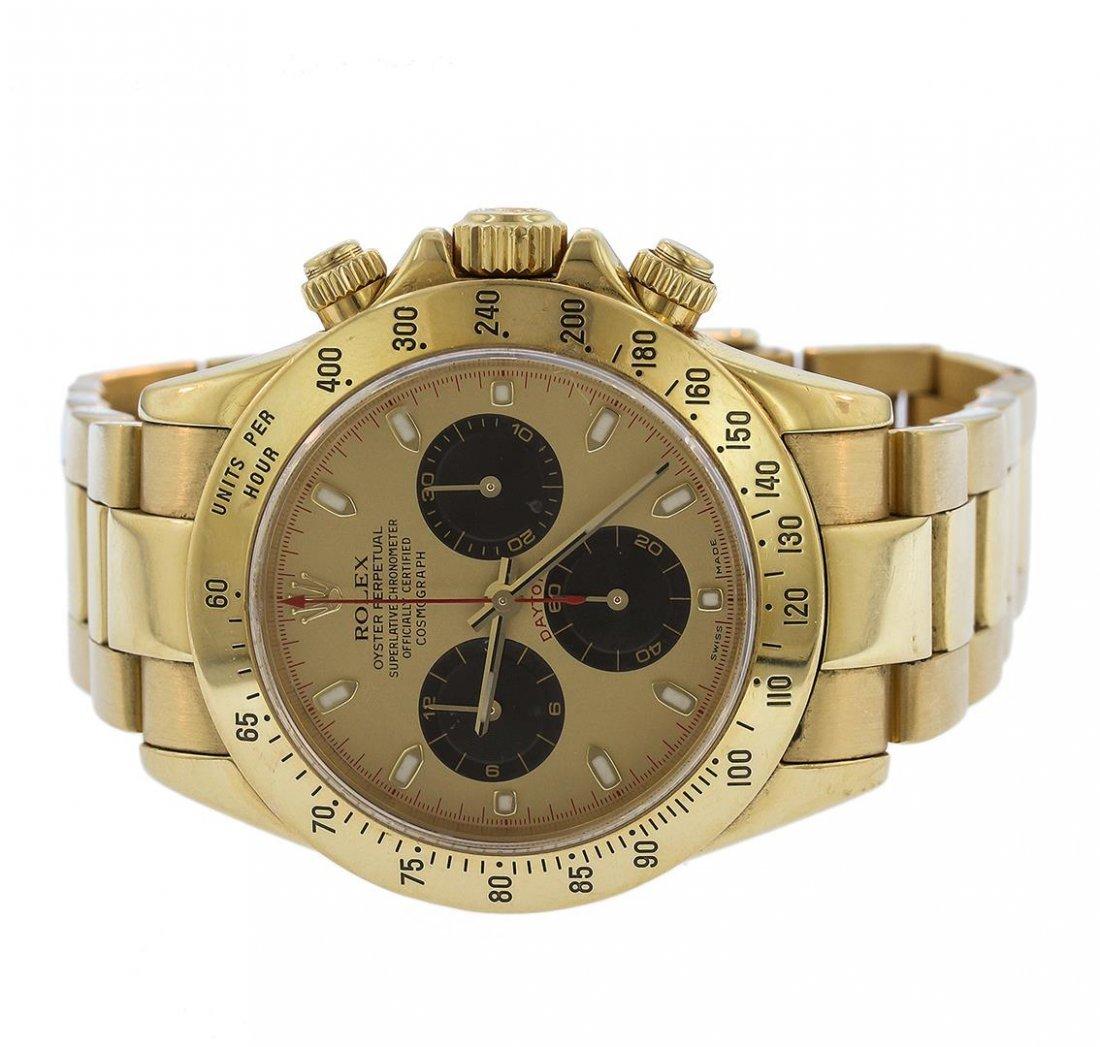 18KT Yellow Gold Rolex Daytona Paul Newman Chronograph - 3