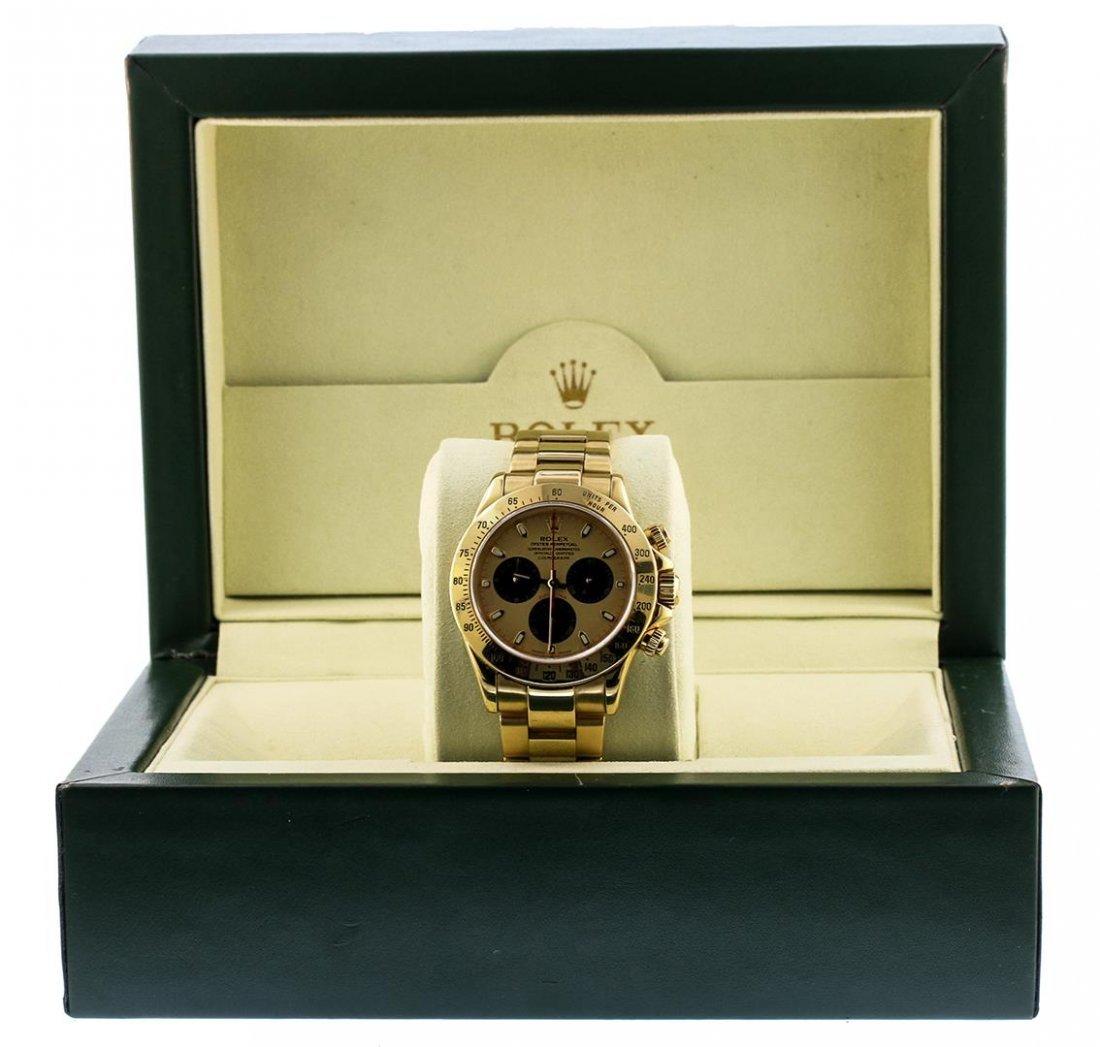 18KT Yellow Gold Rolex Daytona Paul Newman Chronograph - 6