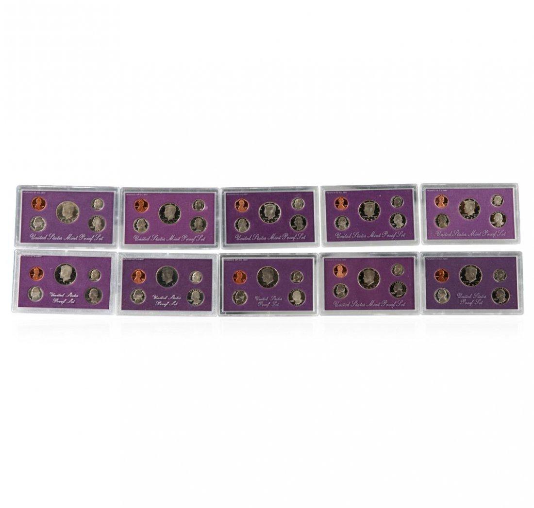 1984-1993 United States Mint Proof Sets