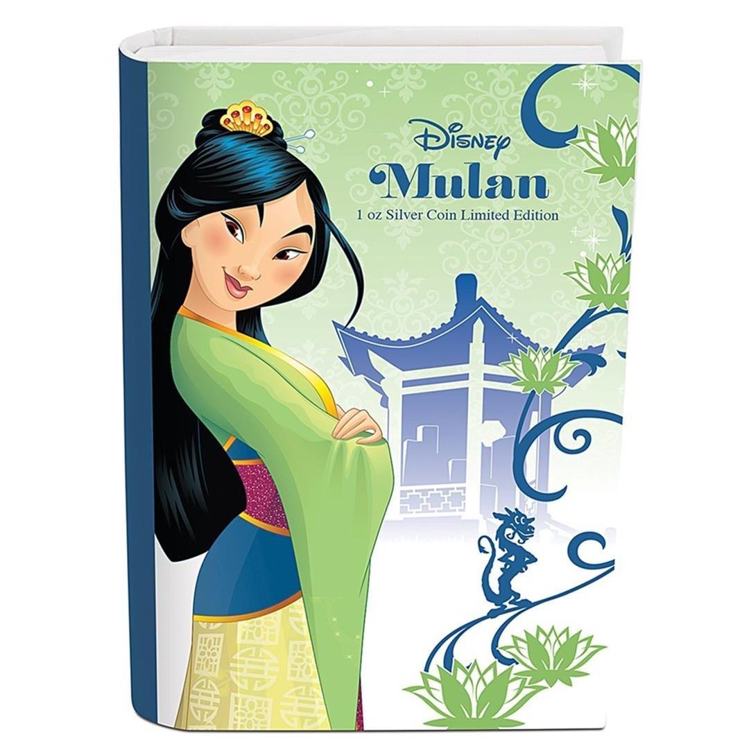 2016 $2 Disney Princess Mulan .999 Fine Silver Proof - 4