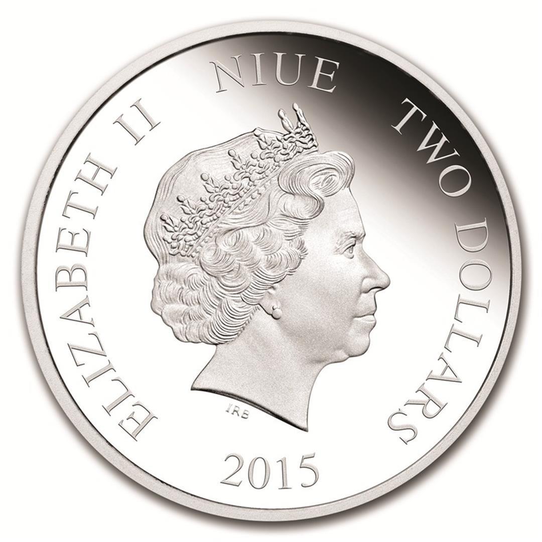 2016 $2 Disney Princess Tiana .999 Fine Silver Proof - 2