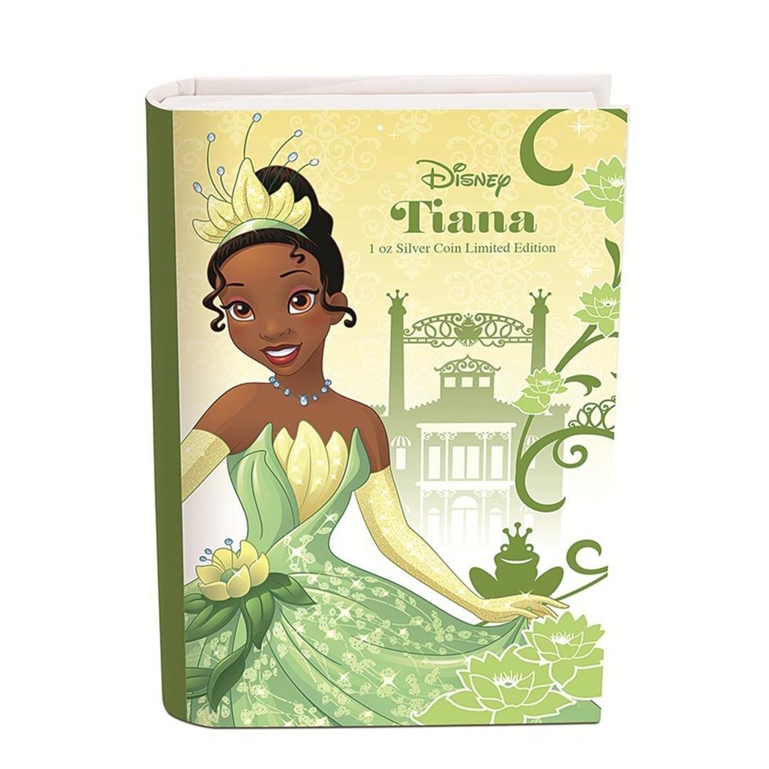 2016 $2 Disney Princess Tiana .999 Fine Silver Proof - 4