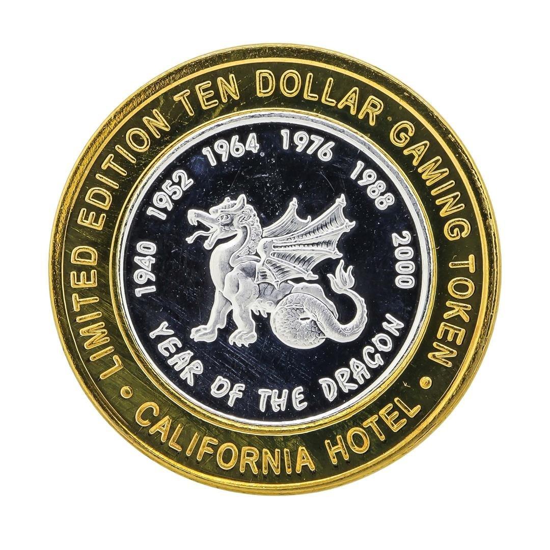 .999 Silver Sam Boyds California $10 Casino Gaming - 2